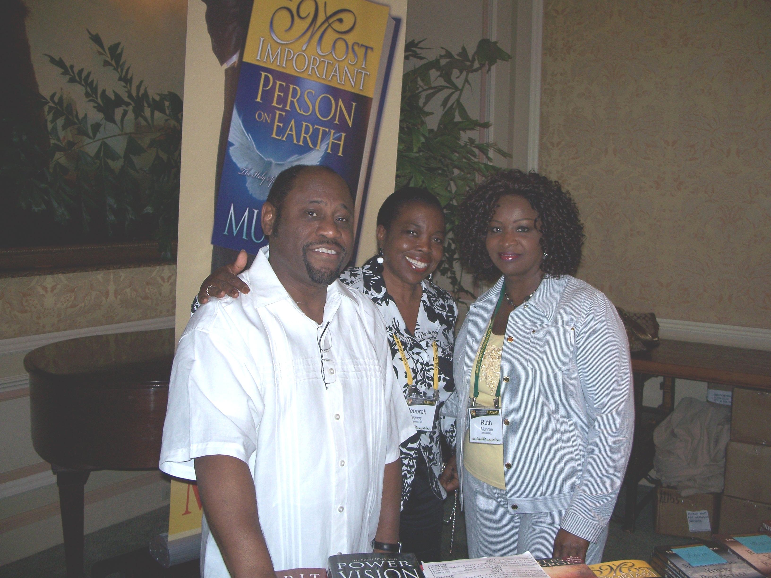 Dr. Myles & Lady Ruth Munroe