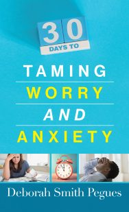 30 days to taming worry and anxiety cover copy