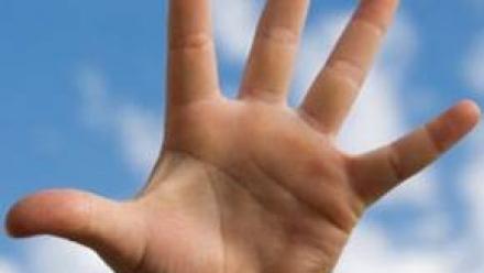 HAND-AGAINST-SKY