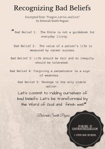 BAD BELIEFS Image outline