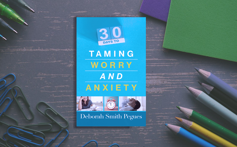 30 Days to Taming Worry & Anxiety Book cover